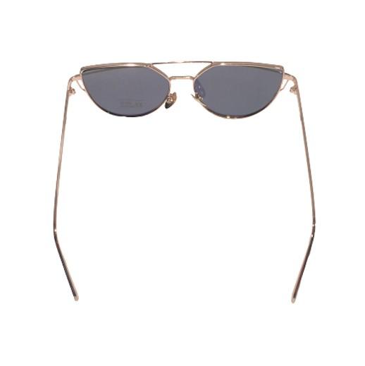 Cat eye Sonnenbrille mit Doppelrahmen bei bekos.ch