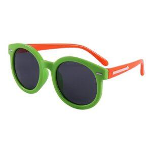 Die Unzerstörbare Kindersonnenbrille Grün / Orange bei bekos.ch