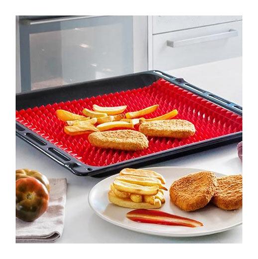 Frittier- und Backmatte mit strukturierter Oberfläche bei bekos.ch