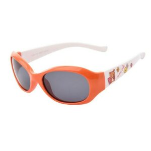 Kinder Sonnenbrille Tiere Orange / Weiss bei bekos.ch