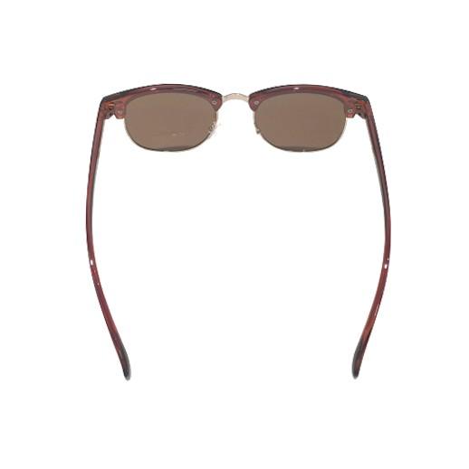 Klassische Trend-Sonnenbrille in Bordeaux