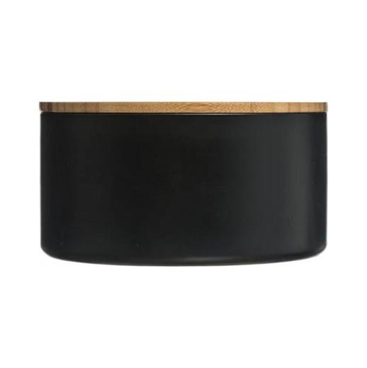 Schmuckdose - Bambus-Deckel mit Spiegel in schwarz bei bekos.ch