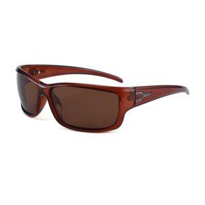 Sportliche Damen Sonnenbrille braun bei bekos.ch