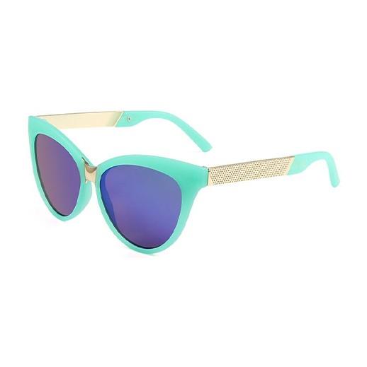 Trendige Kinder Sonnenbrille Mint / Gold bei bekos.ch