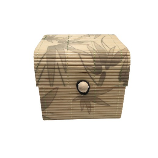 kleine Aufbewahrungsbox aus Bambus bei bekos.ch