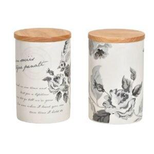 Elegante Vorratsdosen mit Bambusdeckel bei bekos.ch