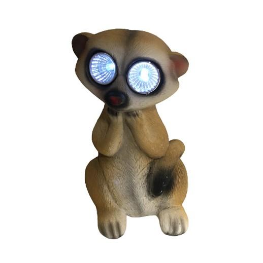 """Solar Erdmännchen """"Timon"""" mit LED Augen bei bekos.ch"""