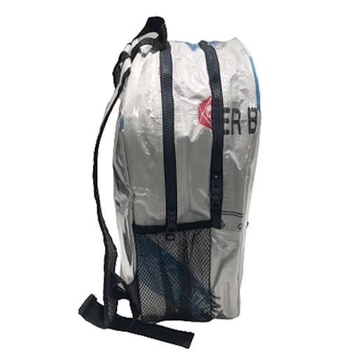 Upcycling - Praktischer City - Rucksack aus Zementsäcke white Tiger bei bekos.ch