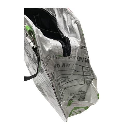 Upcycling - edle Handtasche aus Fischfuttersäcke bei bekos.ch