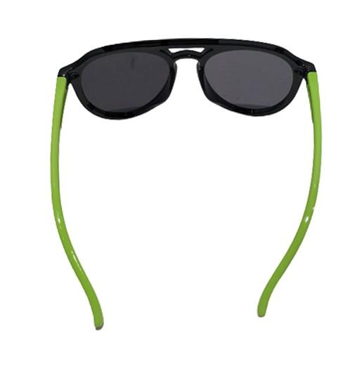 Flexible Kindersonnenbrille Schwarz / Grün bei bekos.ch