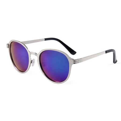Herren-Sonnenbrille Classic blau und silber bei bekos.ch