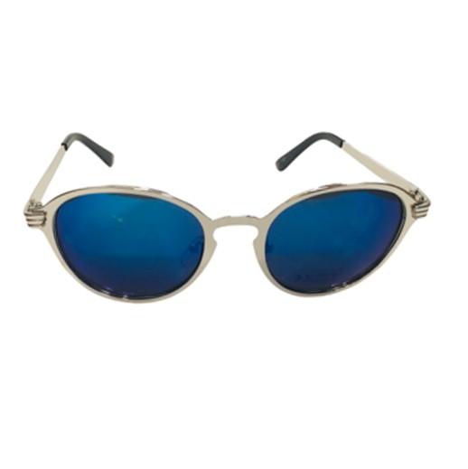 Herren-Sonnenbrille Classic blau und silber