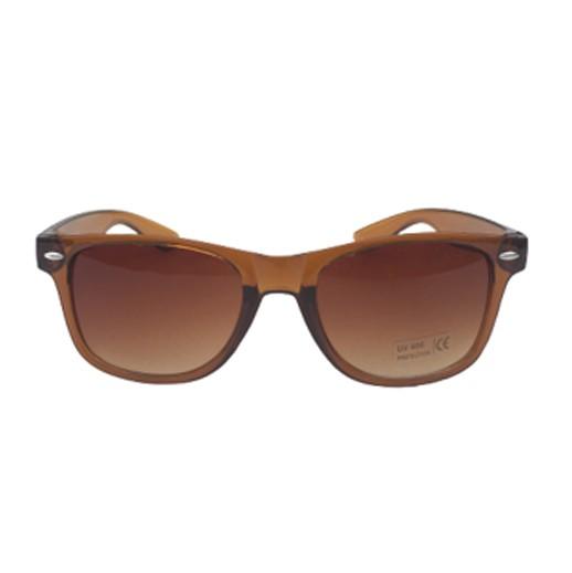 Retro Sonnenbrille braun glänzend bei bekos.ch