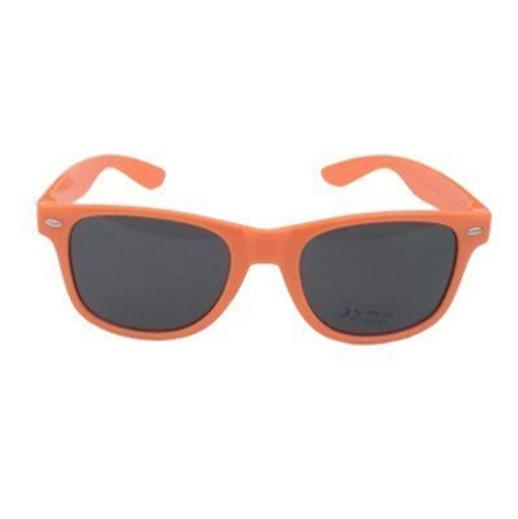 Retro Sonnenbrille orange glänzend bei bekos.ch