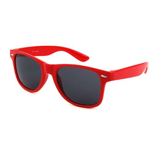 Retro Sonnenbrille rot glänzend bei bekos.ch