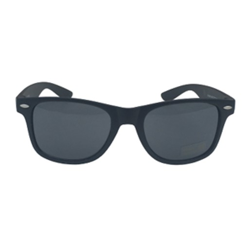 Retro Sonnenbrille schwarz glänzend bei bekos.ch