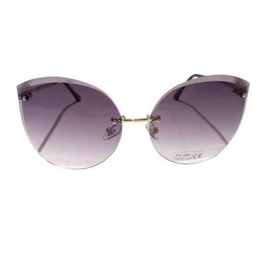 Stylische Damen Sonnenbrille mit grau getönten Gläser bei bekos.ch