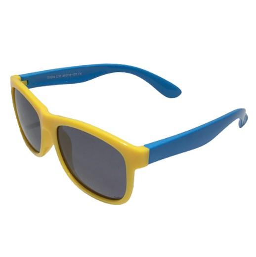 Unzerstörbare Kindersonnenbrille Gelb / Blau bei bekos.ch