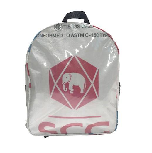 Upcycling - Praktischer City - Rucksack aus Zementsäcke Elephant bei bekos.ch
