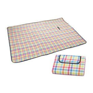 Grosse Picknick-Decke mit wärmeisolierenden Folie 150x200 cm bei bekos.ch