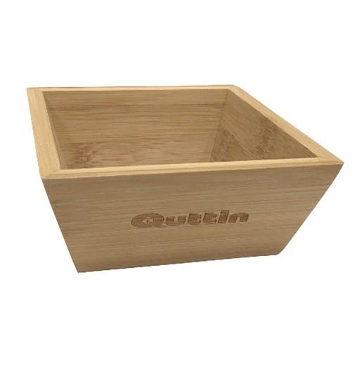 Quadratische Schale aus hochwertigem Bambusholz bei bekos.ch