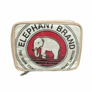 Upscycling - Laptoptasche Elephant Brand aus recycelten Zementsäcke 12 zoll bei bekos.ch