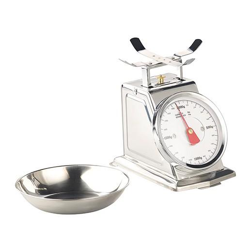Analoge Retro-Küchenwaage bis 2 kg mit Tara-Funktion bei bekos.ch