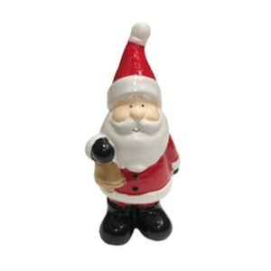 Dekofigur Weihnachtsmann mit Glocke bei bekos.ch