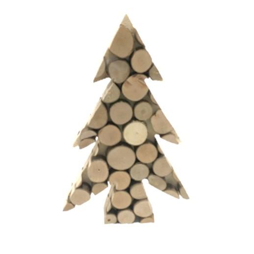 Holz Tischdekoration Tanne bei bekos.ch