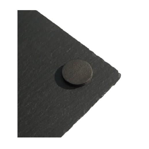 Untersatz aus Schiefer 10x10cm 4 Stück bei bekos.ch