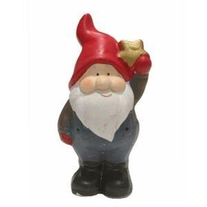 Weihnachtsfigur Santa Klaus mit Stern bei bekos.ch