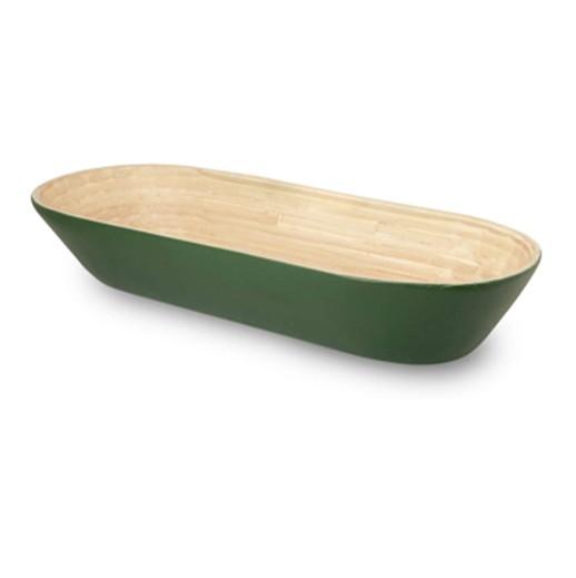 Bambusschale mit grüner Aussenhülle bei bekos.ch