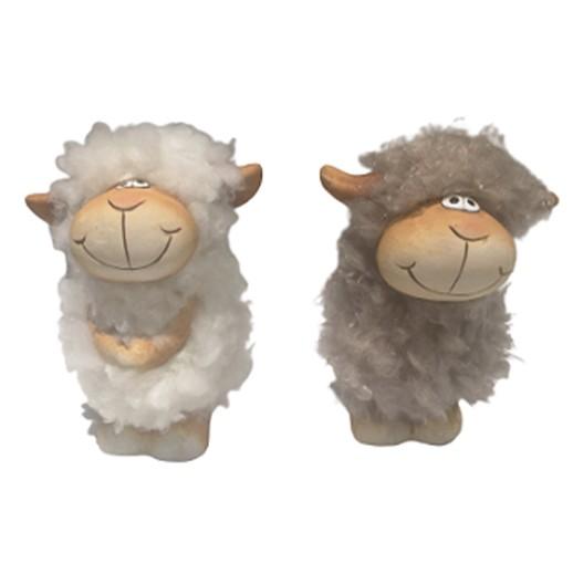 Deko Oster-Schaf mit Kuschelfell bei bekos.ch