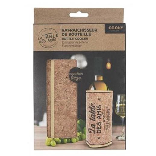 Flaschenkühler, Kühlmanschette aus Kork mit Magnetverschluss bei bekos.ch