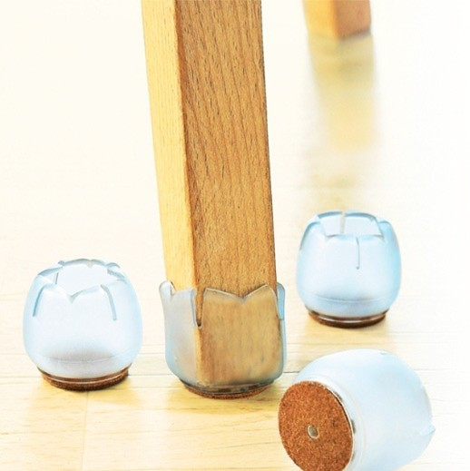 Flexible Schutzkappen für Tisch und Stühle, 4er-Set bei bekos.ch