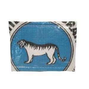 Upcycling - Kleine Geldbörse aus recycelten Zementsäcke White Tiger Brand bei bekos.ch